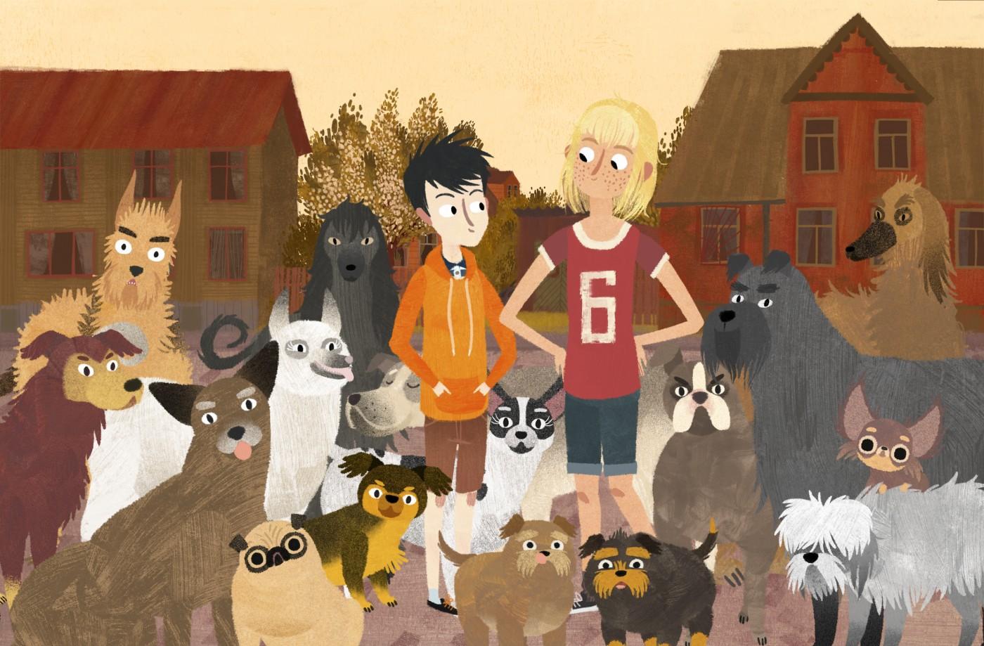 Znalezione obrazy dla zapytania jakub mimmi i gadające psy